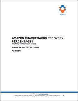 Amazon Deduction Recovery Percentages Study Apr-2018 small