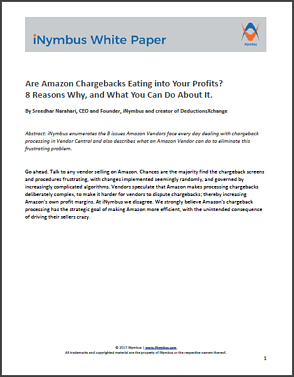 iNymbus White Paper Amazon chargebacks Full cover
