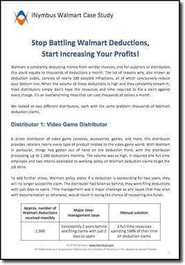 Walmart Deductions Case Study